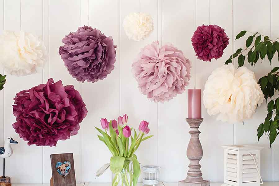 DIY Pompom Decor